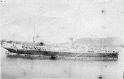 Photograph - Vessel in the Panama Canal; 1917; R6440.84