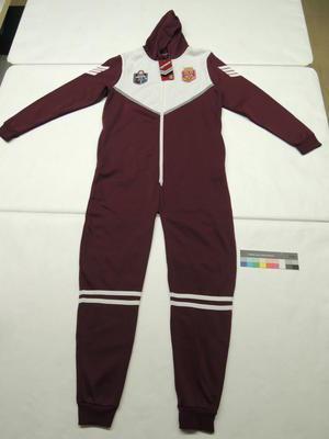 State of Origin Adult onesie branded with Queensland Maroons logo; 2014; H48855