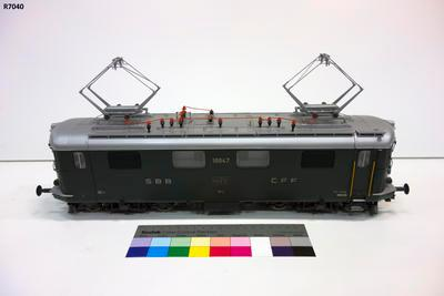 Model - SBB Re 4/4 Electric Locomotive; R7040