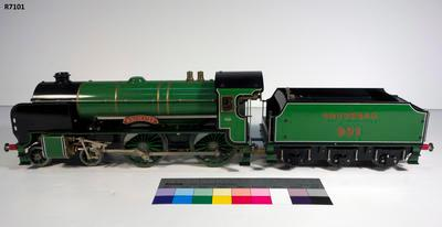 Model - Southern Railway Winchester Steam Locomotive; R7101