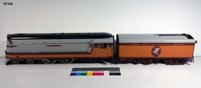 Model - Milwaukee Road Hiawatha