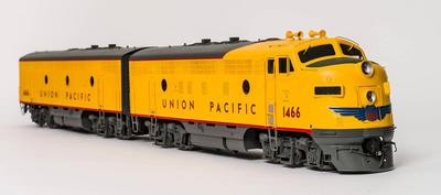 Model - Union Pacific F7 Diesel Locomotive