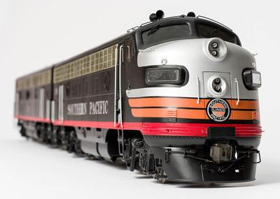 Model - Southern Pacific F7 Diesel Locomotive