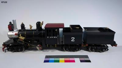 Model - C&N Climax Locomotive