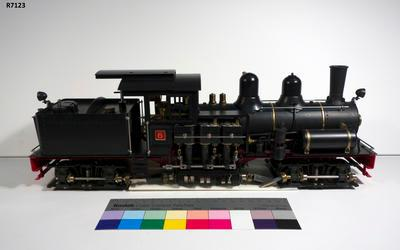 Model - Shay Locomotive No.6