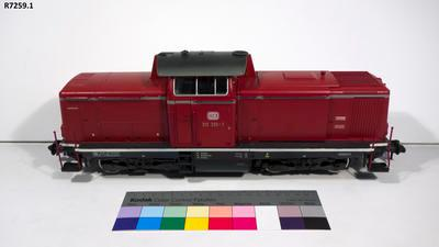 Model - Deutsche Bundesbahn Class 211 Diesel Locomotive