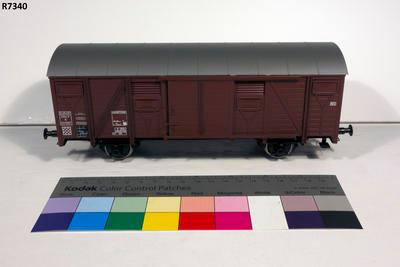 Model - SNCF Covered Goods Wagon
