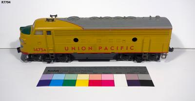 Model - Union Pacific F7 Diesel