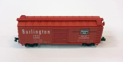 Model - Burlington Box Car