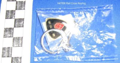 Red Cross Keyring